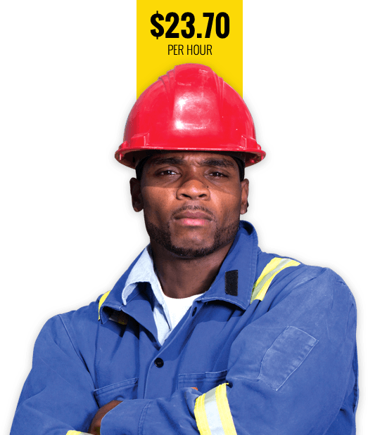 Black Union Construction Worker