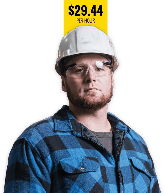White Union Construction Worker